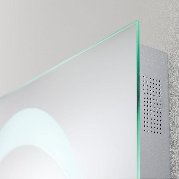Bauhaus Revive 80 x 60cm LED Lit Mirror Bluetooth MEB8060B-15698