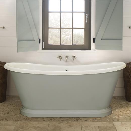 BC Designs 1800 x 800mm Double Skinned Acrylic Boat Bath-0
