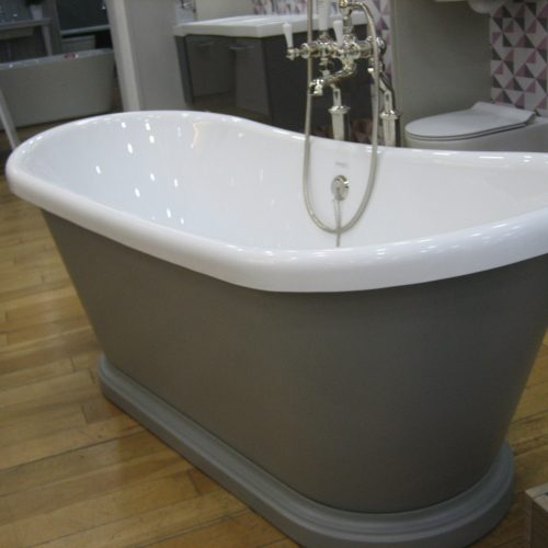 BC Designs 1580 x 750mm Brassica 271 Acrylic Boat Bath-0