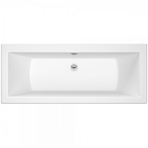 Hudson Reed Square Double Ended Bath 1700 X 700 Bde006