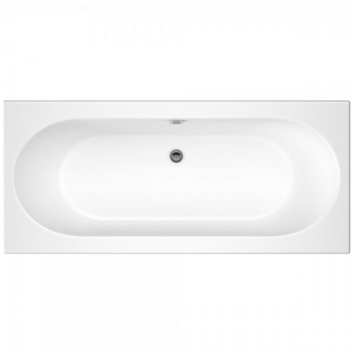 Hudson Reed White Round Double Ended Bath 1700X700 Bde009