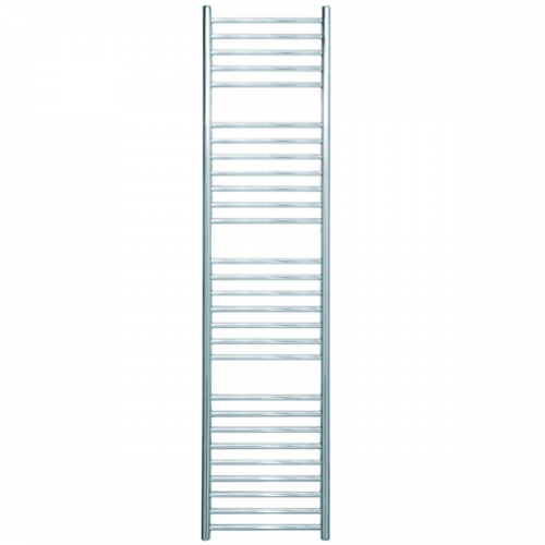 JIS Beacon 400 Stainless Steel 1250x400mm Heated Towel Rail-0