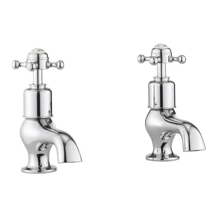 Belgravia Crosshead pair of bath taps BL340DC