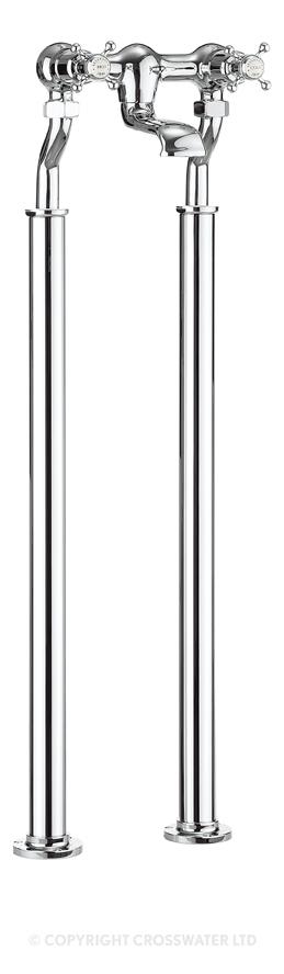 Crosswater Belgravia Floor Standing Legs ONLY BL002FC
