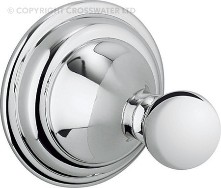 Crosswater Belgravia Chrome Single Robe Hook BL021C