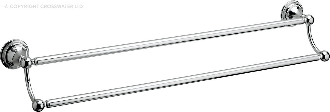 Crosswater Belgravia Chrome Double Towel Rail BL028C
