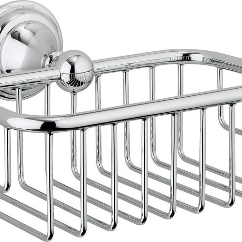 Crosswater Belgravia Chrome Soap Basket BL044C