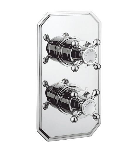 Crosswater Belgravia Crosshead Shower Valve BL1000RC+