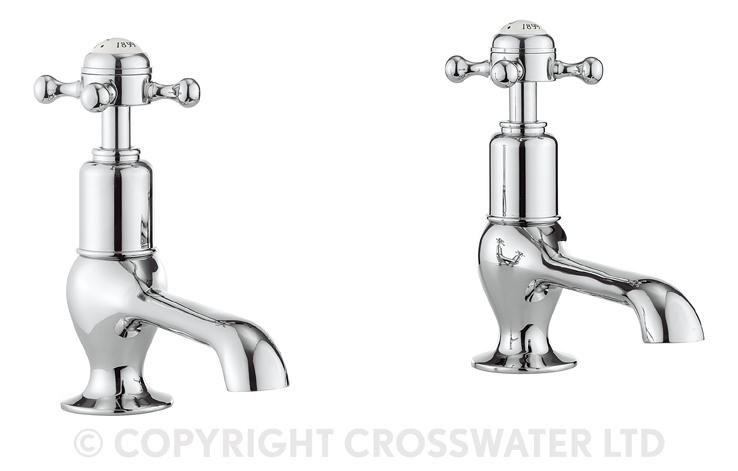 Crosswater Belgravia Crosshead Long Nose Taps BL140DNC