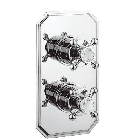 Crosswater Belgravia shower valve with diverter BL1500RC+