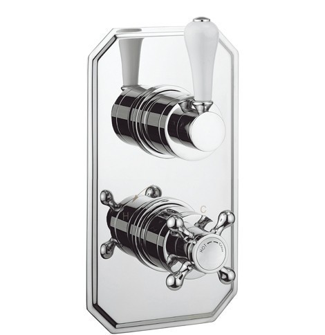 Crosswater Belgravia 2 Way Lever shower valve BL1500RC_LV+