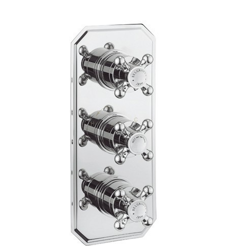 Crosswater Belgravia Crosshead 3 Way Shower Valve BL3000RC+