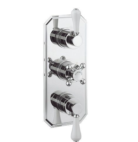 Crosswater Belgravia Lever 3 Way Shower Valve BL3000RC_LV