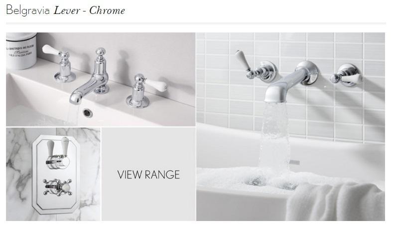 Crosswater Belgravia Lever bath shower mixer BL422DC_LV