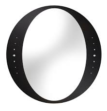 Black Opera Bathroom Mirror with decorative crystals B004822