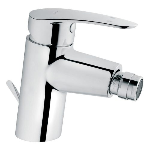 Vitra Dynamic S Chrome Bidet Mixer With Waste 76.DSBIM