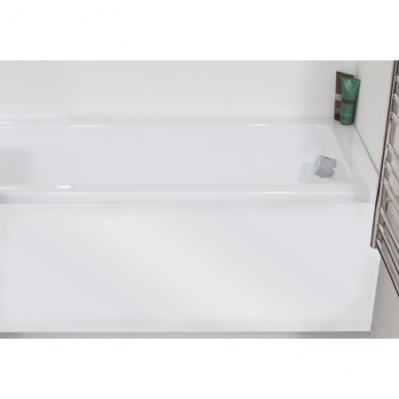 Saneux 1800mm white gloss bath panel BP1801