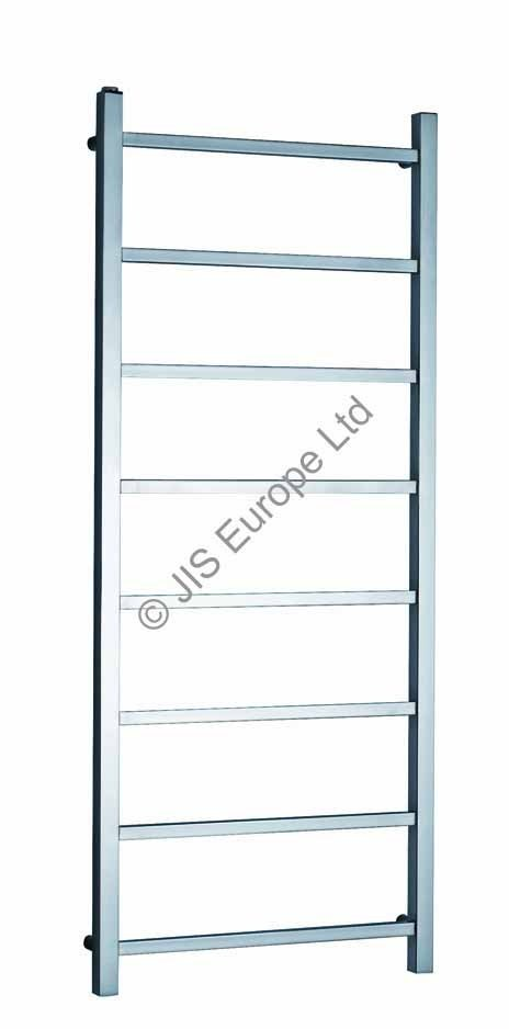 JIS Brunswick 1250 x 520 Heated Towel Rail