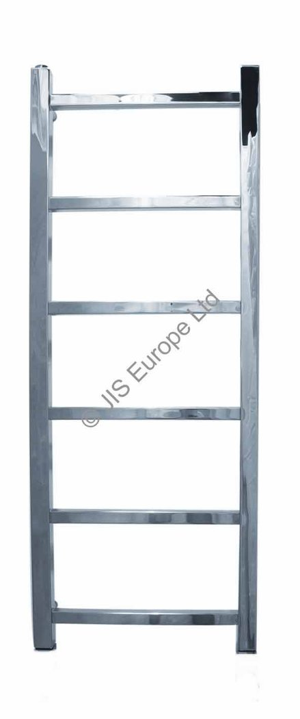 JIS Brunswick 900 x 350 Stainless Steel Heated Towel Rail