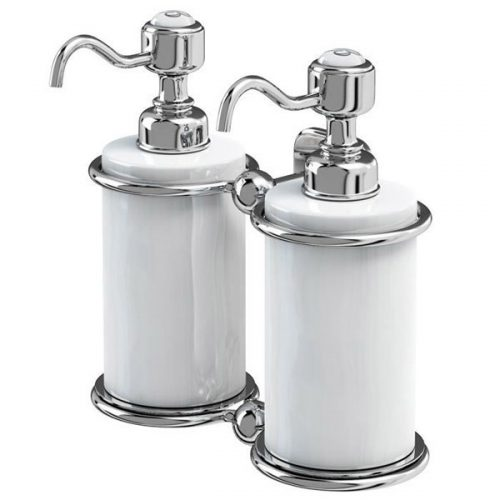 Burlington Chrome Double Soap Dispenser 110.A20CHR