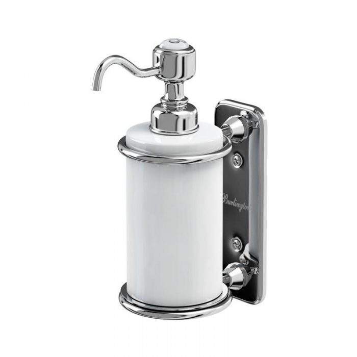 Burlington Chrome Traditional Soap Dispenser 110.A19CHR