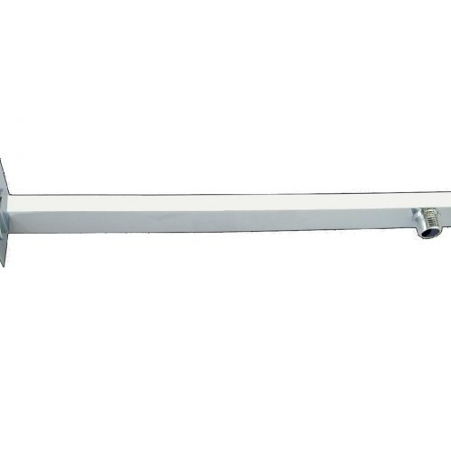 Just Taps Plus Sleek Square Shower Arm, 400mm C021002