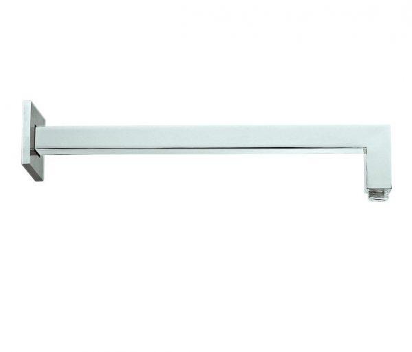 Just Taps Plus Sam Square Shower Arm 400mm C021003