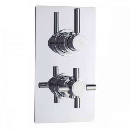 C/P Tec Pura Plus Triple Thermostatic Shower Valve A3003