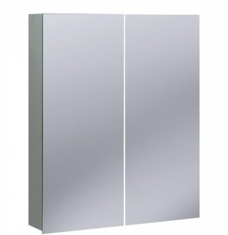 Crosswater 60cm Wide Aluminium Bathroom Cabinet CB6070AL