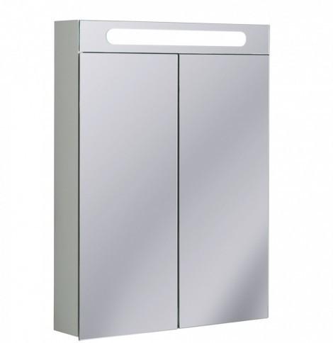 Crosswater 60cm LED Aluminium Bathroom Cabinet CB6080AL