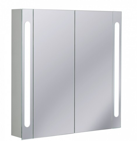 Crosswater 80cm LED Electric Bathroom Cabinet CB8080AL