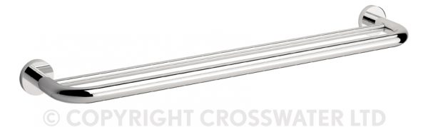 Crosswater Central Towel Rail Double 660mm CE028C