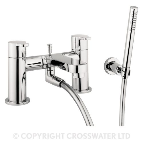 Crosswater Central Bath Shower Mixer With Kit CE422DC