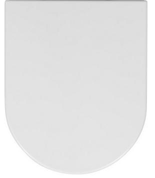 Bauhaus Central Wrap Over Soft Close Toilet Seat CE6105W