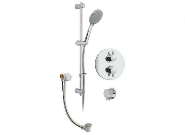 Vado Celsius 2 outlet valve & kit CEL-1724-11-C/P