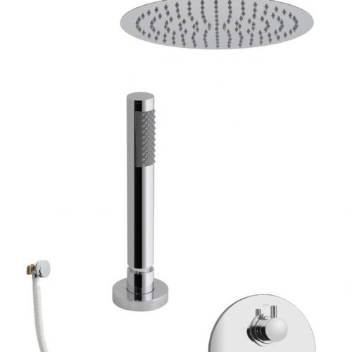 Vado Celsius 3 Outlet Round Shower Package CEL-1733/RO-C/P