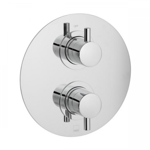 Vado Celsius 1 Outlet 2 Handle Round Thermostatic Valve-0