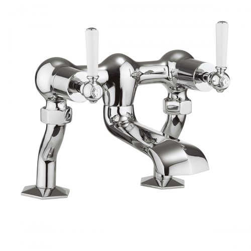 Crosswater Waldorf Chrome Deck Mounted Bath Filler WF322DC_CLV-0