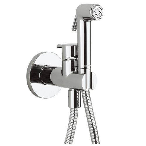 Crosswater Kai Chrome Wall Mounted Douche Valve SH940C