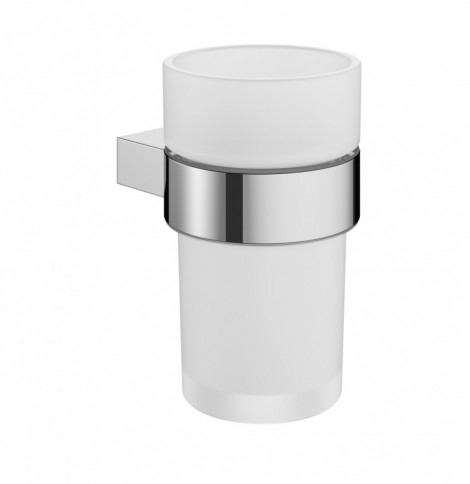 Crosswater Mike Pro Chrome Wall Tumbler Holder PRO003C