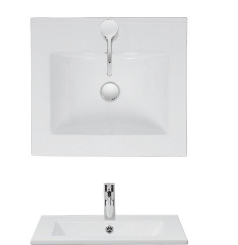 Crosswater Design Vanity Basin 500 no tap hole DE0510SRW