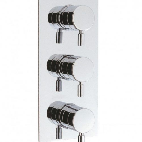 Crosswater Design THERMO SHOWER VALVE 3 CON PORT DE2000RC