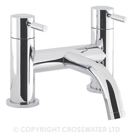 Crosswater Design Bath Filler Deck Mounted DE322DC
