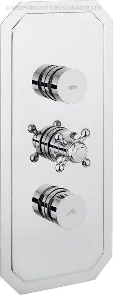 Crosswater Belgravia Dial Shower Valve 2 Control DIAL-BEL-3
