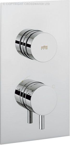 Crosswater Kai Lever Dial Shower Valve 1 Control DIAL-Kai-1