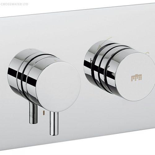 Crosswater Kai Lever Dial Shower Valve 1 Control DIAL-Kai-2