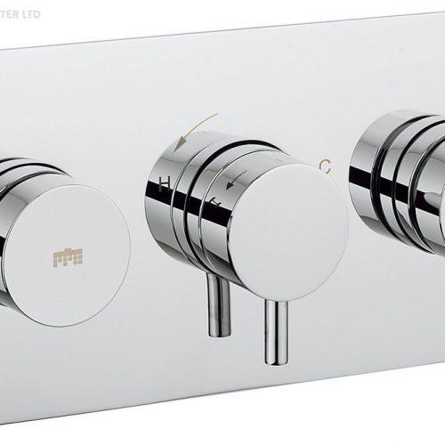 Crosswater Kai Lever Dial Shower Valve 2 Control DIAL-Kai-4