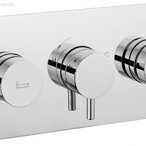 Crosswater Kai Lever Dial Bath Valve 2 Control DIAL-Kai-5