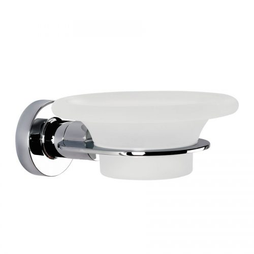 Dish ONLY for a 117048 Tecno Project Glass Soap Dish in Chrome