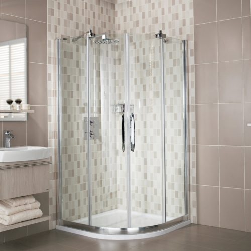 Roman Desire 900 2 Door 8mm Quadrant Shower Doors DQ913S